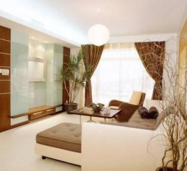 客厅窗帘5种悬挂方式 装点靓家(2)