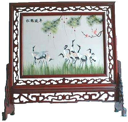 华氏艺术各式刺绣布艺供应
