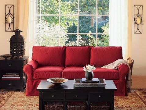 barn美式沙发