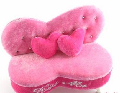 可爱的迷你沙发收纳盒; 女孩子的最爱 个性甜美首饰盒汇总(组图)-图片