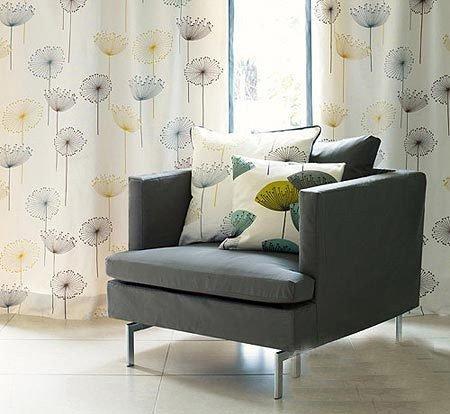 时尚客厅搭配 听窗帘与沙发的对话(2)