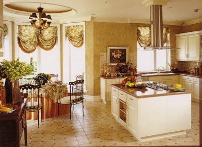 效果,黄蓝格纹的窗帘非常适合美式乡村风格和地中海风格实用,