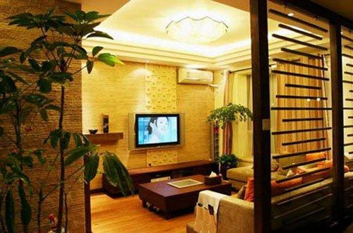 品牌十足20万新中式韵味家居设计-豪宅家纺网excel弧线绘制图片