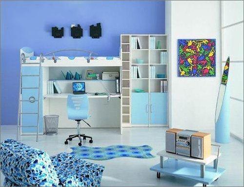家居设计支招+小卧室偷出大平面空间广告设计v卧室图片