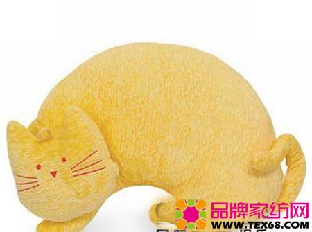 创意家居 动物造型布艺抱枕(5)