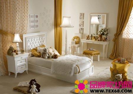 欧式风格家居装修舒适女孩卧室
