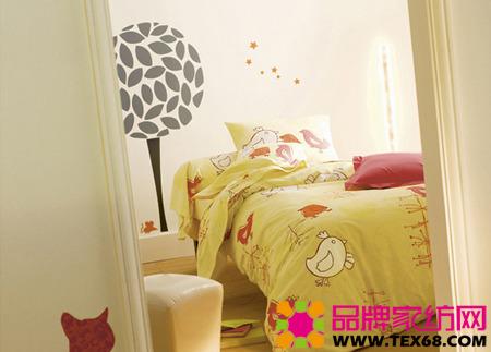 趣味儿童床品打造童话般床上世界