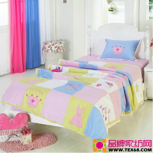 可爱儿童床品让卧室充满童趣(4)