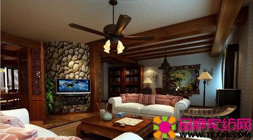 顶楼家居装修设计展现自然风