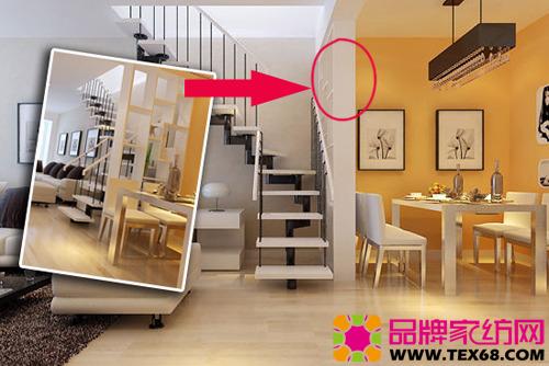 80平米复式家居装修,经过精心的设计装修打造出奢华+简约的风格.图片