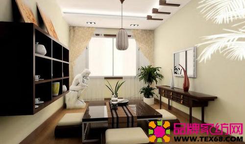 120平现代简约中式家居装修