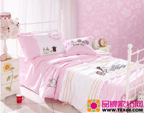 可爱儿童床品营造儿童甜美睡眠(2)