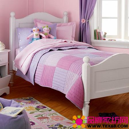 精致儿童床品营造童话般的美丽(