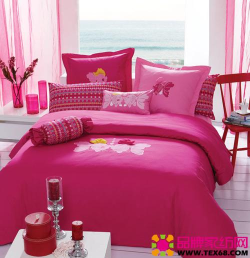 艾莱依家纺床品融合浪漫元素(3)
