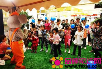 """此次""""六一""""儿童节之际,梦洁宝贝举办了一场规模宏大的路演巡展,在长沙"""