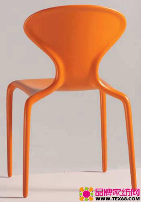 提炼海洋生物的外形章角椅