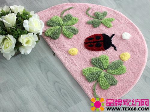 超萌可爱地毯打造温暖舒适居室