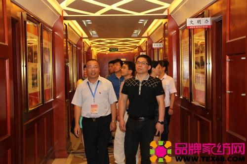 首先参观了盛宇集团党建及企业文化展板