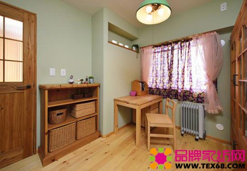 日式马克笔客厅手绘图