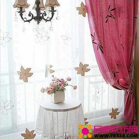 春节田园风窗帘
