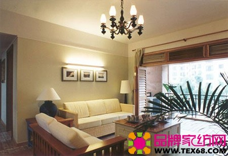 现代香港样板房客厅