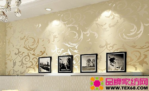 超实惠欧式壁纸扮靓墙壁-品牌家纺网