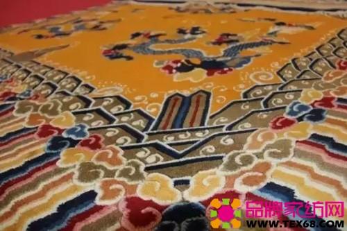 青海藏毯---民族工艺品的市场化发展