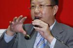 访杨兆华,家纺展促行业加快结构调整