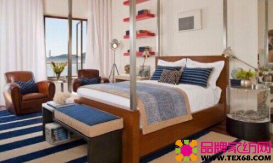 16款欧式风格四柱床 复古卧室设计-品牌家纺网