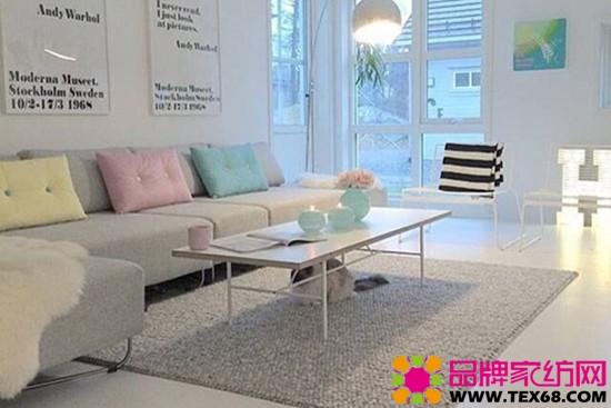 簡約、清爽的客廳風格