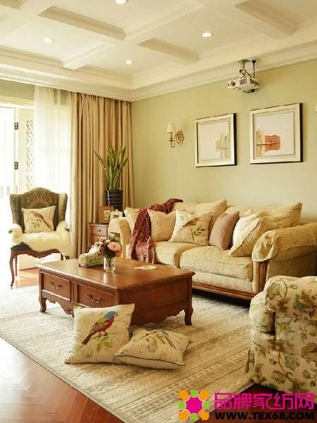 塑造客厅风格 沙发 背景墙搭配10案例