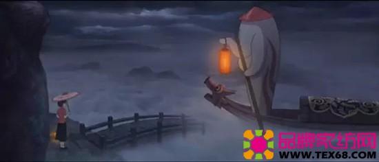 大鱼海棠 精致花纹的船篷