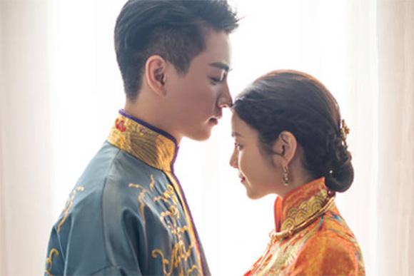 陈晓与陈妍希大婚 中式婚礼唯美浪漫