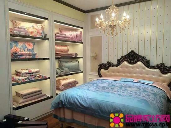 紫罗兰家纺产品陈列