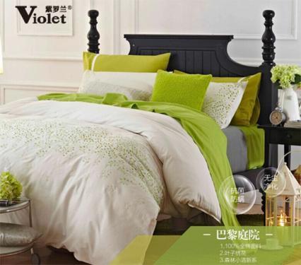 紫罗兰生机家纺—享受优雅闲适居家