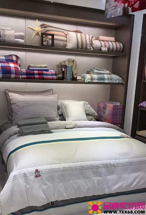 紫罗兰家纺专卖店陈列