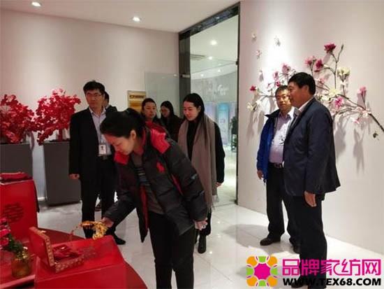 参观了中国家纺博物馆