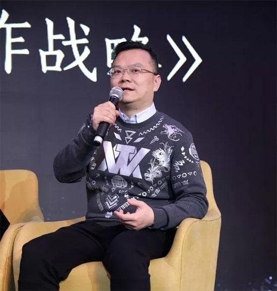 七匹狼集团战略副总裁吴学军