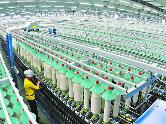 新疆纺织服装产业 大力促就业