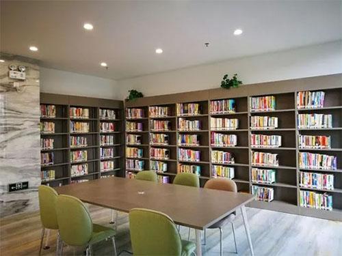 陆丰文化中心主要由图书馆