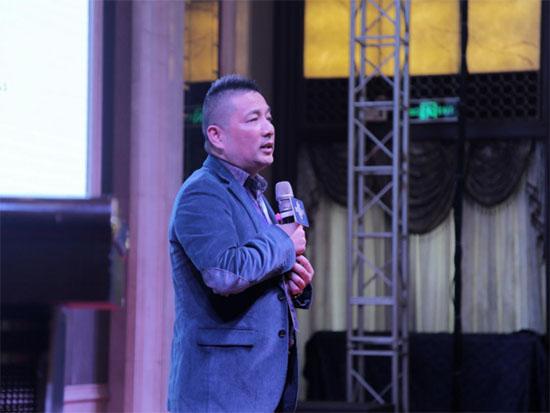 宝缦集团总裁陆维国先生发表致辞