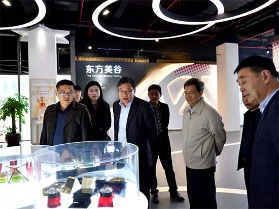 徐会东书记赴上海参加中国国际家用纺织品及辅料博览会