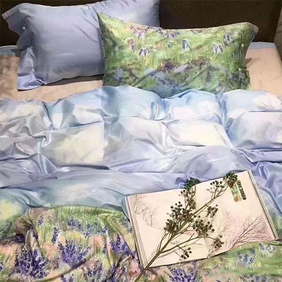 浪漫薰衣草床上用品