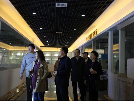 中国工信部领导莅临老裁缝调研指导
