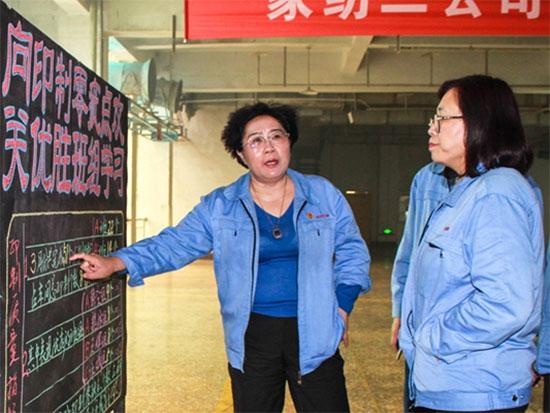 孚日股份总经理吴明凤对该项目表示了肯定