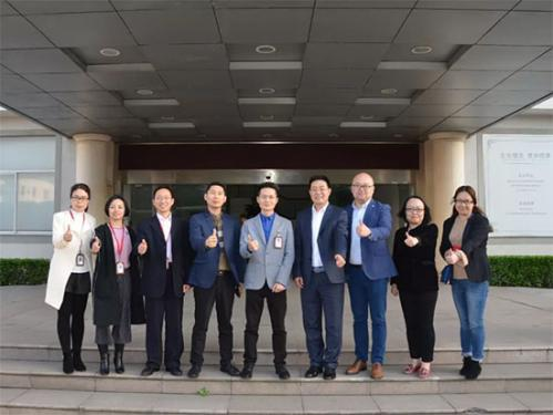 中国纺织工业联合会莅临水星家纺参观访问