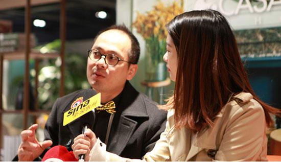 卡撒天娇集团副主席及行政总裁郑斯灿先生接受采访