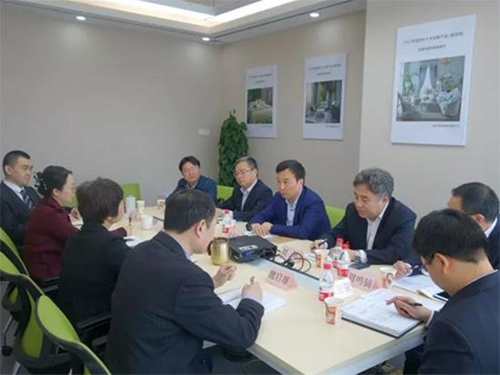江苏省南通市副市长徐新民一行到访中国家用纺织品行业协会