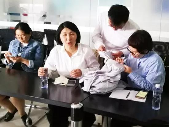 家纺面料公司技术人员介绍了大提花工艺相关知识