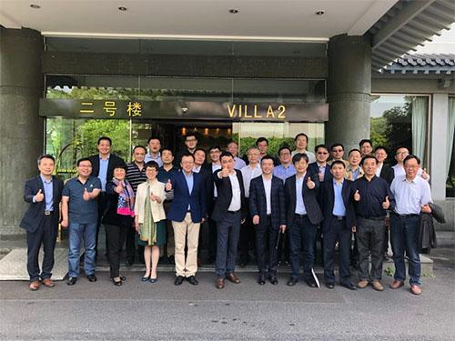 中产协水刺非织造布分会会长工作会议在杭州举行